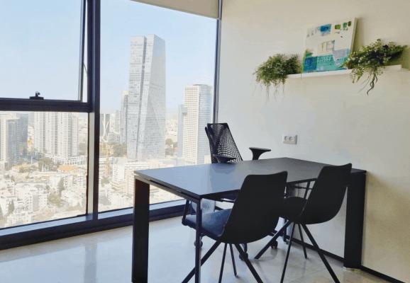 משרד עם נוף 12 קרדיטים לשעה
